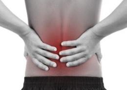 lage rugpijn of een hernia